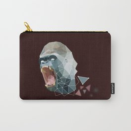 Low Poly Gorilla Carry-All Pouch