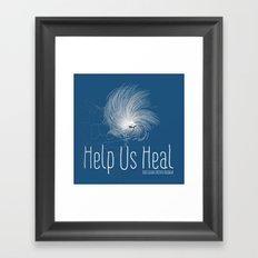 Help Us Heal - Hurricane Sandy Relief Framed Art Print