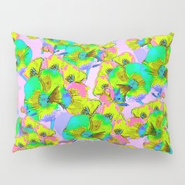 Flowers 2 - Pink Pillow Sham