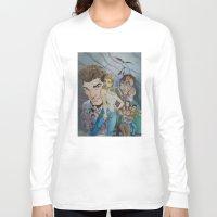 buffy the vampire slayer Long Sleeve T-shirts featuring Buffy and the vampire by PaulysVoice