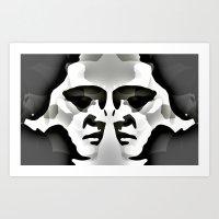 elvis Art Prints featuring ELVIS ? by KrisLeov