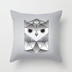 Owl. Throw Pillow