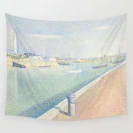 Georges Seurat - The Channel of Gravelines Wall Tapestry