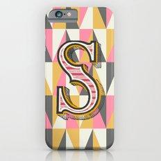 Letter S iPhone 6s Slim Case