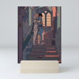 Secret and Sad farewell Mini Art Print
