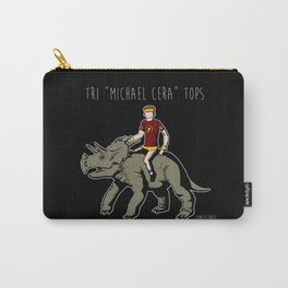"""Tri """"Michael Cera"""" tops Carry-All Pouch"""