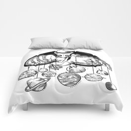 Planets Puppeteer Comforters
