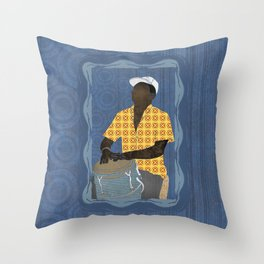 Conguero Throw Pillow