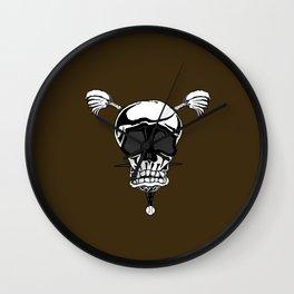 Baseball Skulls and Trebuchet's Wall Clock