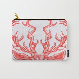 stag (white background) Carry-All Pouch