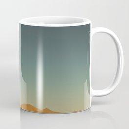 Dark Sky Vivid Red Dunes Coffee Mug