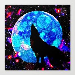 Wolf #1 Canvas Print