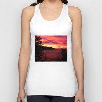 big sur Tank Tops featuring Sunset * Big Sur, California by John Lyman Photos