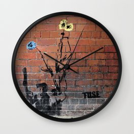 Glasgow rules Wall Clock