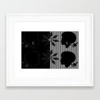 afro Framed Art Prints featuring afro by Kathead Tarot/David Rivera