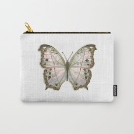 Butterflies: Mother-of-Pearl Carry-All Pouch