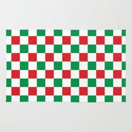 Christmas Gingham (red/green) Rug