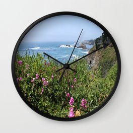 Beautiful North California Coast Wall Clock