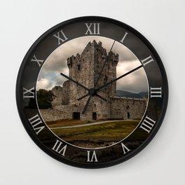 An old irish castle Wall Clock