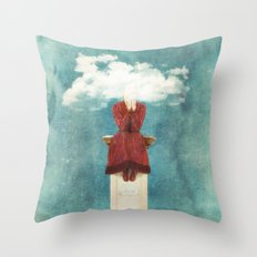 LOVE - Head in the Clouds Throw Pillow