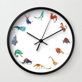 Animals kingdom Wall Clock