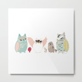Cheerful with us Metal Print