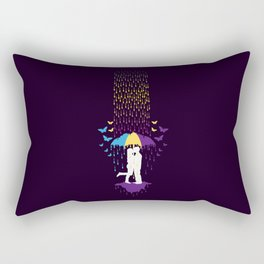 Love Me, Touch Me and Kiss Me Rectangular Pillow