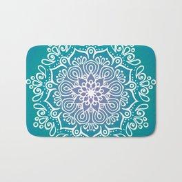 Baesic Turquoise Tranquil Mandala Bath Mat