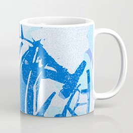 Blue victory Coffee Mug