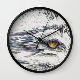 Lumen Eyes Wall Clock