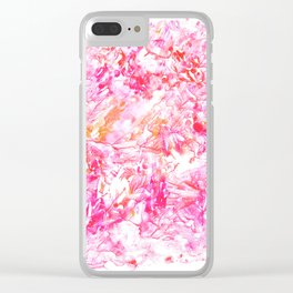 DELIGHT   monotype #1 Clear iPhone Case
