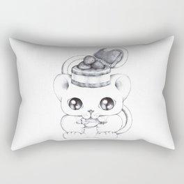 The Purrfect Meal Rectangular Pillow