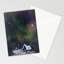Aurora Borealis Stationery Cards