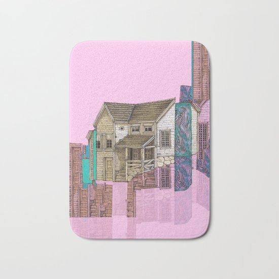 house defromation Bath Mat