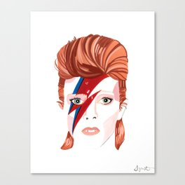 King Bowie  Canvas Print
