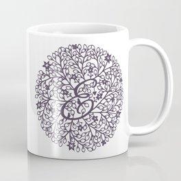 D - monogrammed initial D print Coffee Mug