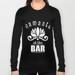 Great Costume For Yoga Lover. Shirt For Bartender. Long Sleeve T-shirt