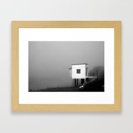 at the end of time Framed Art Print