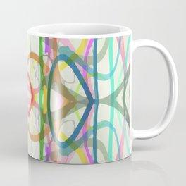scribble, scribble on the wall Coffee Mug