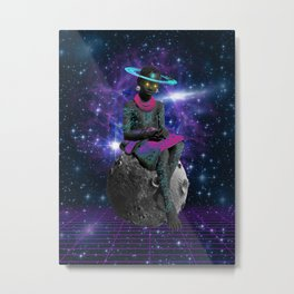 SON OF THE FUTURE Metal Print