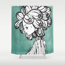 Peace Line No 21 Shower Curtain