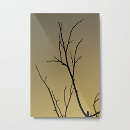 Lonely Twigs Metal Print