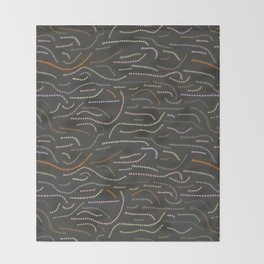 worms Throw Blanket