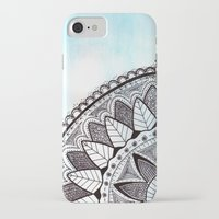 zentangle iPhone & iPod Cases featuring Zentangle by Nathanee.