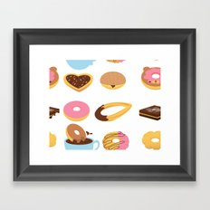 Sweety Morning Framed Art Print