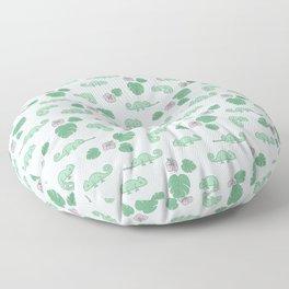 Remi the Chameleon Floor Pillow