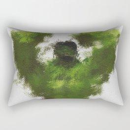 Smashing Green Rectangular Pillow