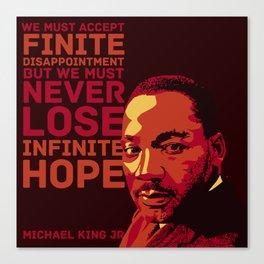 MLKJr. Canvas Print