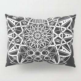 Millennium Falcon Mandala Illustration Pillow Sham
