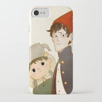 greg guillemin iPhone & iPod Cases featuring Greg & Wirt by Ferkashi